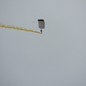 West Point Parachute Team at New York International Air Show (08/30/2020)