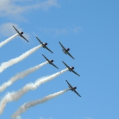 Geico Skytypers at the New York International Air Show (08/30/2020)
