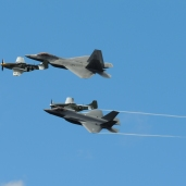 Heritage Flight at the New York International Air Show (08/30/2020)