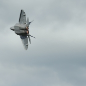F-22 at the New York International Air Show (08/30/2020)