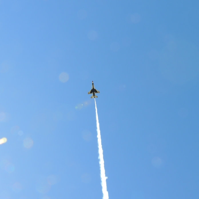 U.S. Air Force Thunderbirds at the New York International Air Show (08/30/2020)